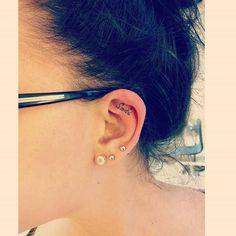 Pin for Later: 27 Ear Tattoo Ideas That Are Whispering For Your Attention Smile