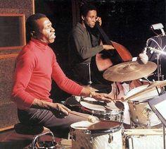 Elvin Jones  with Richard Davis