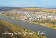 Inuvik -Established in 1955- oil employment -Top of the World- Cross Country Ski Championships held in April