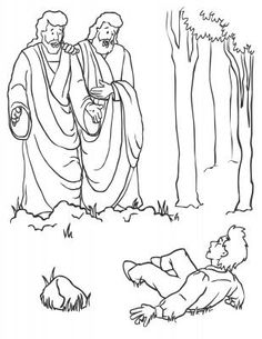 Full page coloring pages, including some LDS ones.