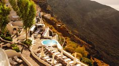 If you're thinking of Greece, seriously consider Mystique Resort Santorini. The stylish resort is nestled among the beautiful cliffs and whitewashed stone homes of Santorini island. Pamper yourselves with body massages and wraps in a private suite or on a private terrace.