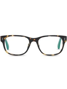 Large lenses and a tortoise shell frame are always sophisticated and chic. TOMS Clarke frames.