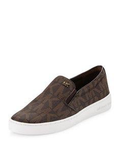 3c7309b7c2cf3 Keaton Slip-On Sneaker by MICHAEL Michael Kors at Neiman Marcus. Tenis Michael  Kors