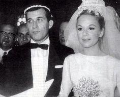 Aliki Vougiouklaki Dimitris Papamichail their real wedding! Greek Life, Real Weddings, Greece, Nostalgia, Marriage, Cinema, Memories, Actresses, Actors