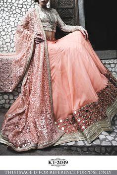 e0cf5beea33 Bhavika Exim Indain Style Bollywood Heavy Lehenga Choli Wedding Dress KT-2039