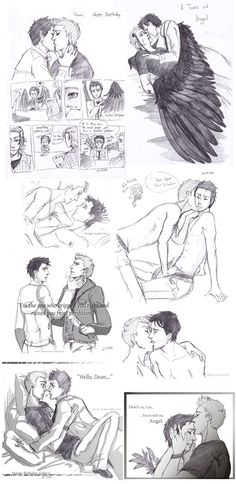 Dean x Castiel dumb -SPN- by EspadaDina