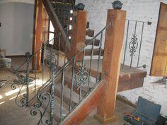 Forjados La Farolera: Baranda de escalera de hierro forjado