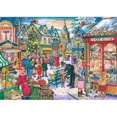Window Shopping - 1000pc jigsaw puzzle