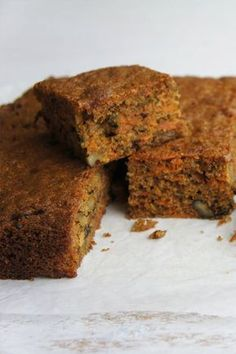Kaye's delicious Carrot Slice is an absolute winner! Baking Recipes, Cake Recipes, Dessert Recipes, Baking Desserts, Baking Ideas, Dinner Recipes, Carrot Recipes, Sweet Recipes, Healthy Baking