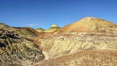 Bisti Badlands - Rounding One More Hill by Debra Martz