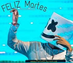 Feliz martes mi gente Rumbera todo nuestro equipo les desea muy buenos días  #FelizMartes #marshmallow #marshmello #dj #producer #udm #electronica #venezuela #bigroom #like #follow  Estas aburrido visita nuestra web  www.PortalDJs.com.ve #SoloParaRumberos   NOTICIAS RUMBAS RADIO LOS MEJORES DJS LAS MEJORES MEZCLAS DESCARGA ETC...