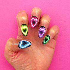 d3e81b6bb4e6d990e471a2ff58ae919d--light-nails-neon-nails.jpg 640×640 pixels