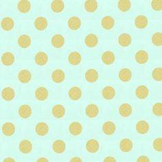 Tissu Glitz pois Mist x 10cm
