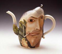 Kuraoka Says to Know by Kurt Weiser #collectibles #art #teapot