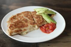 Low Carb/Gluten Free Quesadillas