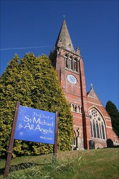 St Michael & All Angels: Lyndhurst I was married here as was my Grand mother..