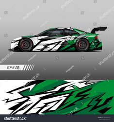 Find Racing Car Wrap Design Vector Graphic stock images in HD and millions of other royalty-free stock photos, illustrations and vectors in the Shutterstock collection. Thousands of new, high-quality pictures added every day. Car Stickers, Car Decals, Car Wrap Design, Car Paint Jobs, Racing Car Design, Automotive Engineering, Sign Writing, Car Painting, Art Cars