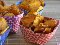 Sweet Potato Chips - Easy Bake Recipe and tips for the perfectly crisped chip.