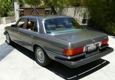 1978 Mercedes-Benz 450SEL (Anthracite Grey Metallic/Palomino Leather)