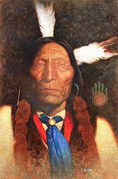 Blue Necktie by Thomas Blackshear ll Native American Paintings, Native American Images, Native American Artists, Native American Indians, Native Americans, Southwestern Paintings, Southwest Art, Indian Artwork, Indian Paintings
