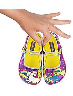Hot Chocolate Design Mini Chocolaticas Lucy in the Sky Girls Mary Jane Flat Multicoloured US Size: 7 ❤ ...