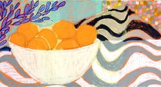 Oranges in a bowl Gordon Hopkins