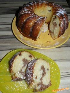hrníčková bábovka s kokosem Bunt Cakes, 3d Cakes, My Favorite Food, Favorite Recipes, Yummy Treats, Yummy Food, Czech Recipes, Pound Cake, No Bake Cake