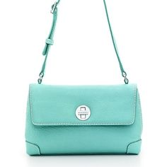 Love this!    Metropolitan crossbody bag in Tiffany Blue® grain leather. More colors available