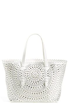 Sondra Roberts Perforated Leather Tote available at #Nordstrom