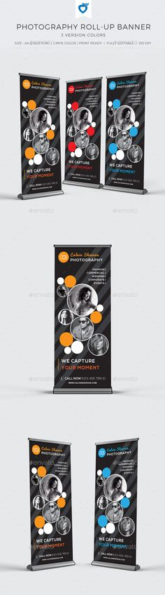 Photography Roll-up Banner  (AI Illustrator, CS, 70x30, business, camera, company, creative, design, elegant, event, fashion, global, model, multipurpose, photo, photographer, photography, photography banner, promotion, roll-up, roll-up banner, rollup, shoot, signage, simple, studio, universal, wedding)