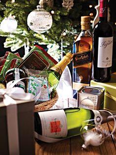 Crea tu propia canasta especial para regalar.   Gourmet Palacio #NavidadPalacio