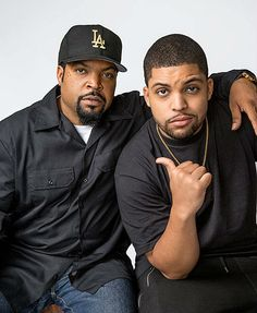 Ice Cubes - Father and Son