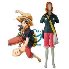 One Piece Film Strong World Monkey D Luffy Cosplay Costume  #OnePiece  #Luffy #Cosplay #Costume