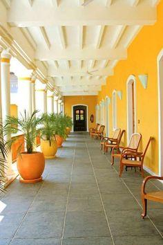 travel happy interiors india french quarters puducherry pondicherry  by myoki #IndianHomeDecor