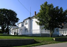 Our Bay of Fundy Inn and Guesthouse on Brier Island, Nova Scotia. Ask about our ONE night travel package including breakfast and a whale watching tour for TWO!