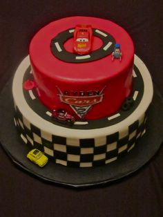 Children's Birthday Cakes - cars 2 cake