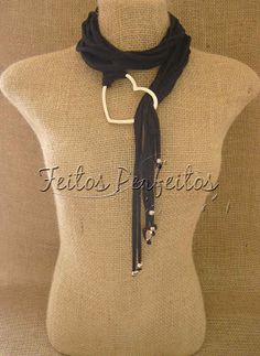MADE PERFECT: FABRIC NECKLACE OR SCARF OR BELT - 3 PARTS 1
