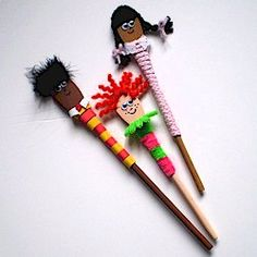 We& been checking out the Dollar Store for craft supplies again and came up with these fun Wooden Spoon Puppets after our shopping trip. Wooden Spoon Crafts, Wooden Spoons, Art For Kids, Crafts For Kids, Arts And Crafts, Multicultural Crafts, Puppets For Kids, Kindergarten Crafts, Preschool Crafts