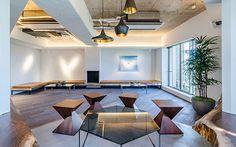 市ヶ谷・九段下のレンタルオフィス&サービスアパートメントのパブリックスペース | HIVE TOKYO