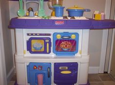 Fisher Price Kitchen Set now Emma has this grow with me one