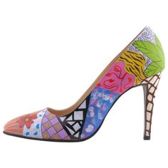 Hotstepper Abstract Bazaar Stepper, Painted Shoes, Hot, Pumps, Abstract, Beautiful, Fashion, Sandals, Summary