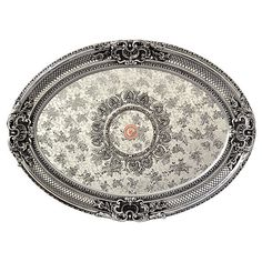 Silver Rocaille Oval Ceiling Medallion - World of Decor Ceiling Medallions, Classic Furniture, Classic House, Architectural Elements, British Style, Home Accents, Decoration, Custom Homes, French Country