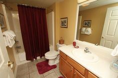 Condo 242-Large Bathrooms-linens provided! #RPMCondos #WhisperingPines #PigeonForge #Memories #Family #GSMNP