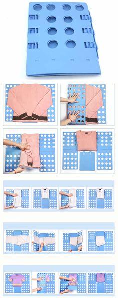 Adjustable Clothes Shirts Folder Board
