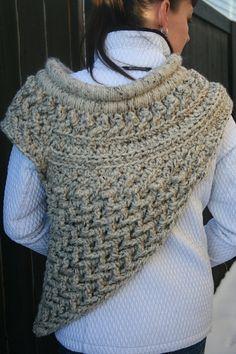 Crochet Patterns Cowl Crochet Cowl In Oatmeal Marble by JennisCrochet Made to Order Katniss Cowl Inspi… Knit Cowl, Crochet Shawl, Knit Crochet, Knitting Patterns, Crochet Patterns, Crochet Ideas, Crochet Adult Hat, Crochet Winter, Crochet Accessories