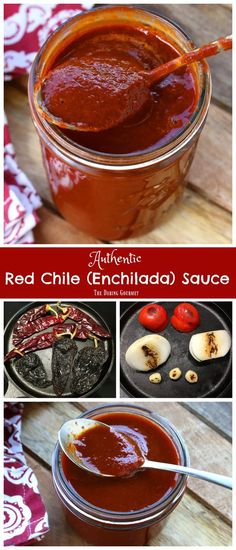 enchilada sauce recipe best authentic mexicanYou can find Enchiladas mexicanas and more on our website. Authentic Enchilada Sauce, Sauce Enchilada, Recipes With Enchilada Sauce, Homemade Enchilada Sauce, Homemade Enchiladas, Sauce Recipes, Gourmet Recipes, Cooking Recipes, Red Chile Enchilada Sauce Recipe