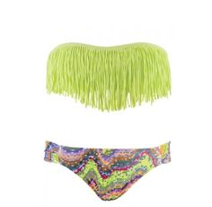 fringe bathing suit