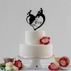 Custom Cake Topper Modern Cake Toppers Wedding Cake Ideas Dated