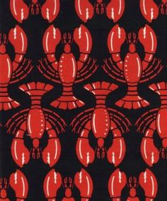 lobster fabric