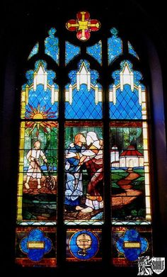 church glass stained windows - Google Search